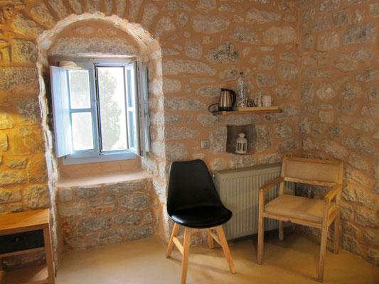 Stilvoll wohnen im historischen Turmhaus in der Mani  (Antares Hotel Areopoli)