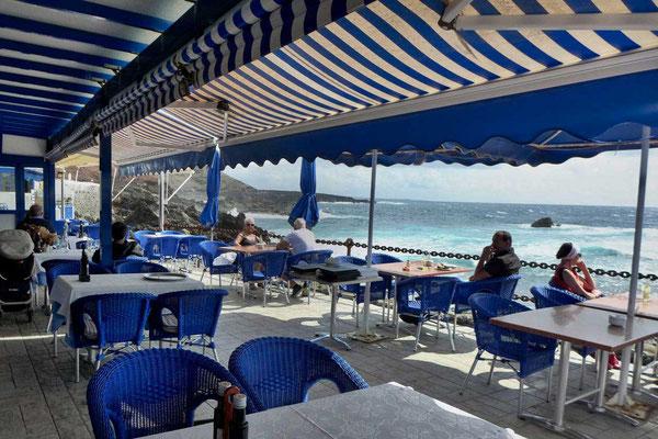 Restaurant am Meer, das Costa Azul in El Golfo Lanzarote