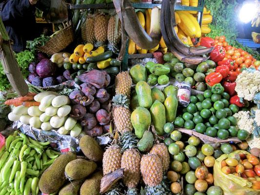 Markt in Nuwara Eliya, Sri Lanka