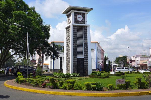 Der Clock Tower von Arusha