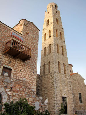 Areopoli Hauptstadt der Mani, Peloponnes