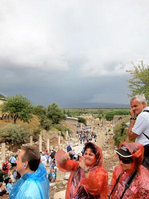 Ephesus Betrieb um 9.30 Uhr