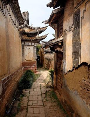 Wunderschöne alte Gassen von Shaxi, Yunnan