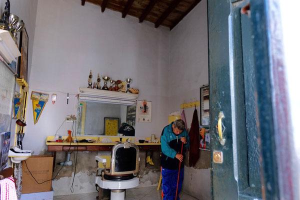 Frisör in Haria, Lanzarote