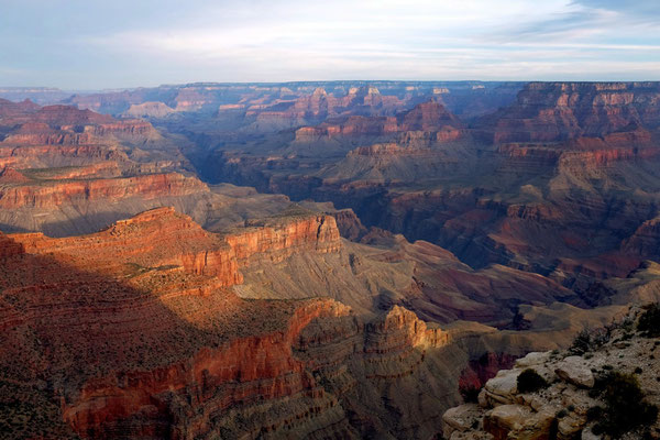 Sonnenaufgang Viewpoints Grand Canyon Desert View Drive