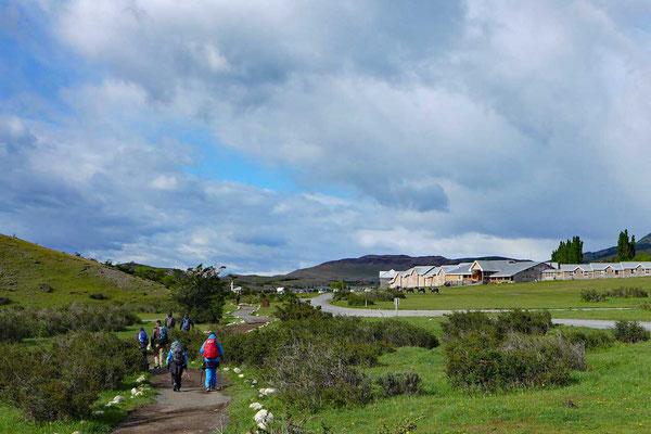 Sonniger Abschnitt bis zum Hotel Las Torres