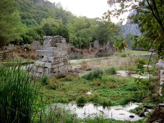 Antikes Olympos Lykische Küste Türkei