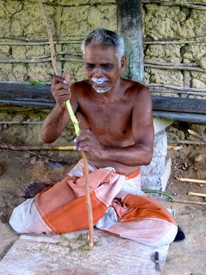 Zimtherstellung Cinnamon Island, Madu Ganga River Sri Lanka