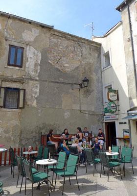 In den Altstadt-Gassen von Senj