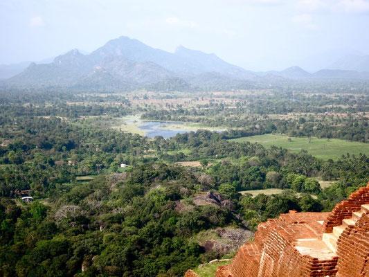 Sigiriya on Top of the Rock Sri Lanka