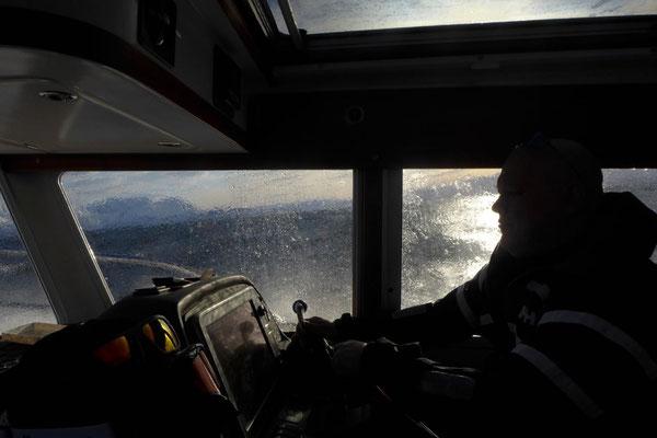Lyngen Alpen Norwegen Skitouren per Boot