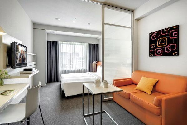 Zimmer Hotel Citadines Shinjuku Tokyo