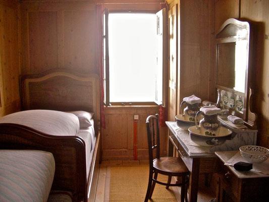 Unser Zimmer in der Berghütte Schäfler, Appenzeller Alpen