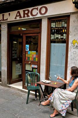AL'ARCO Venedig kleine Cichetti Bar