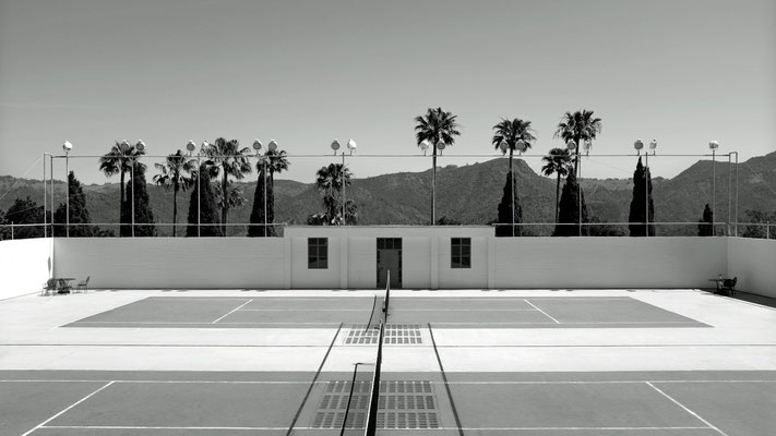 Hearst Castle, Tennis Court