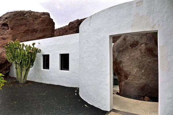 Eingang Villa Omar Lanzarote