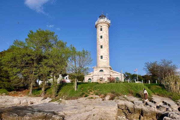 Leuchtturm Kap Savudrija, Istrien