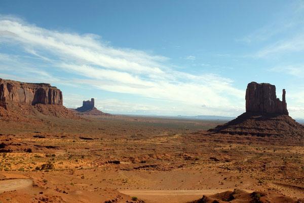 Start Wildcat Trail zum West Mitten Butte
