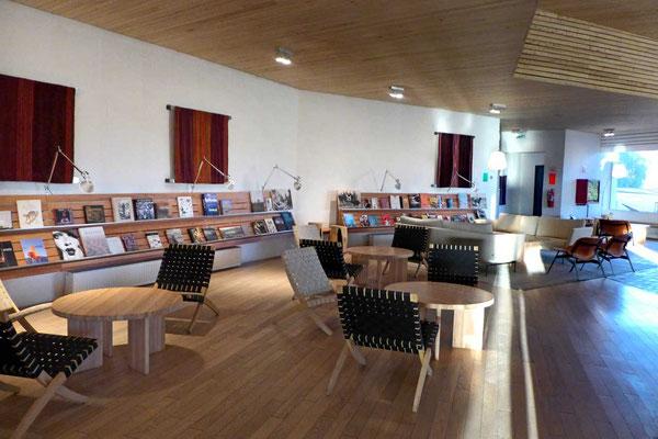 Bibliothek im explora Atacama