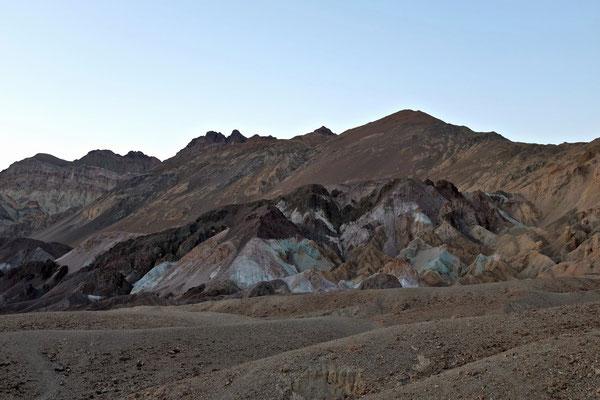 Artists Drive Death Valley, leider schon im Schatten