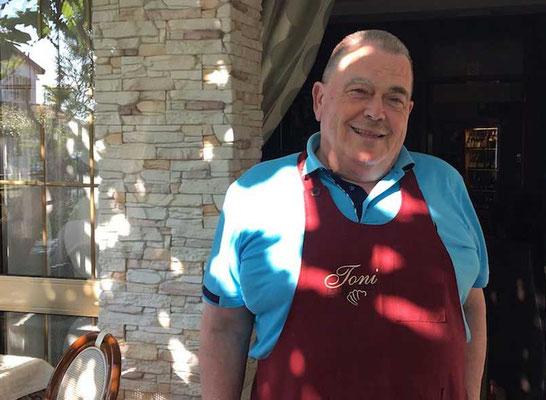 Chef Toni vom Restaurant Toni Umag, Istrien