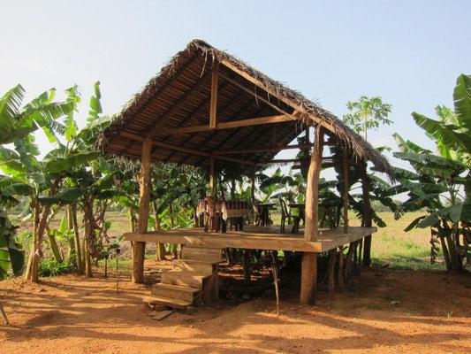 Restaurant der Rice Villa bei Polonnaruwa, Sri Lanka
