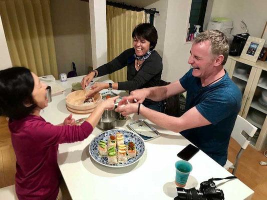 airKitchen kochen & essen zuhaue bei Japanern