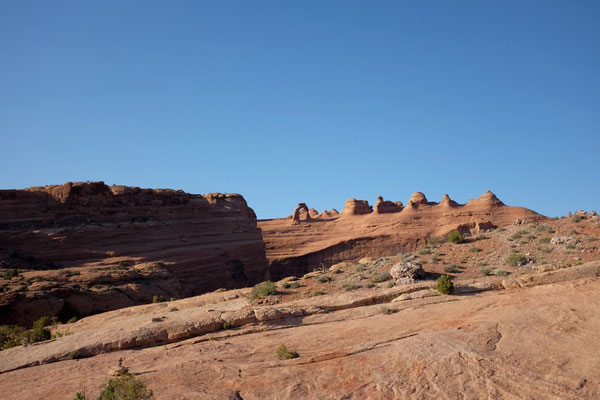 Delicate Arch vom Upper Viewpoint