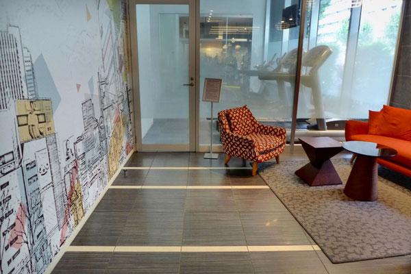 Lobby Hotel Citadines Shinjuku Tokyo