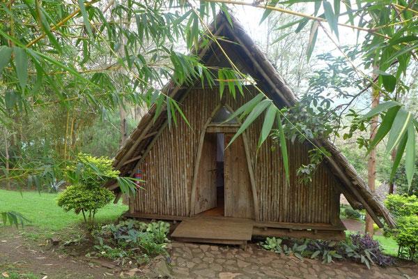 Schlicht und gemütlich unser kleines Chalet –Karama Lodge in Arusha