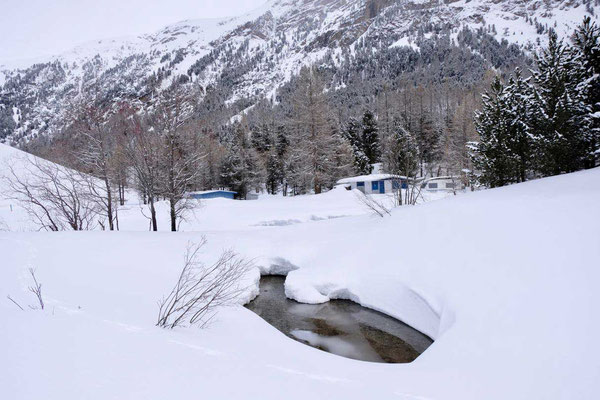 Winter Camping Morteratsch, Schweizer Engadin