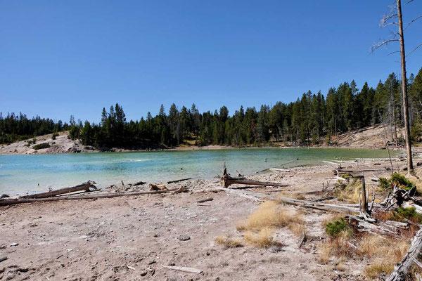 Sour Lake Mud Vulcano Yellowstone Nationalpark