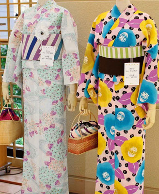 Kimoni Yukata shopping Kyoto Tipp Daimaru Department Store