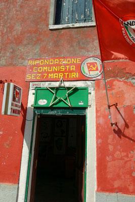 Sitz der Kommunistische Partei Venedigs in Castello