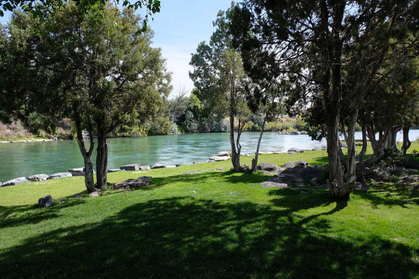 Snake River Walk in Idaho Falls