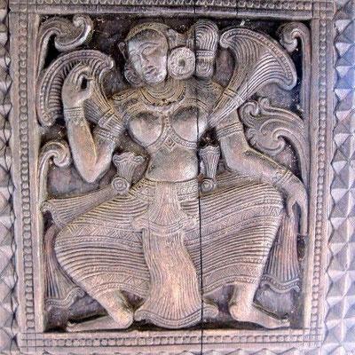 EMBEKKE Tempel bei Kandy Sri Lanka