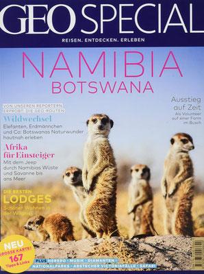 Namibia Magazin Geo Special