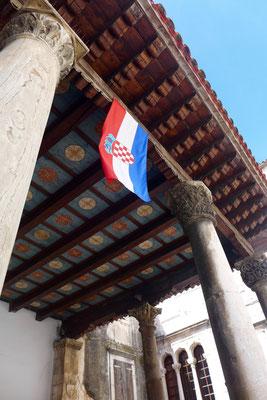 Stadt-Loggia von Trogir, Kroatien