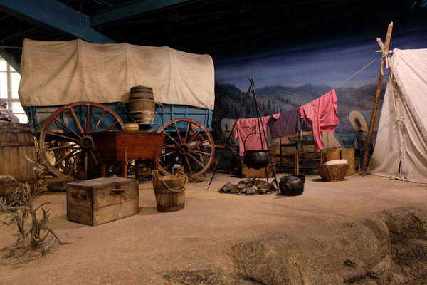 National Historic Oregon Trail Interpretive Center, Baker City