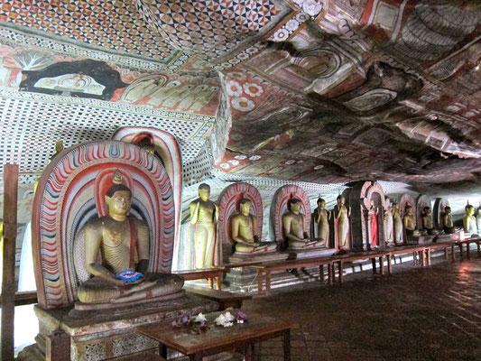 Dambulla Höhlentempel Sri Lanka