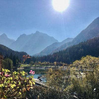 Naturschutzgebiet Zelenci Slowenien