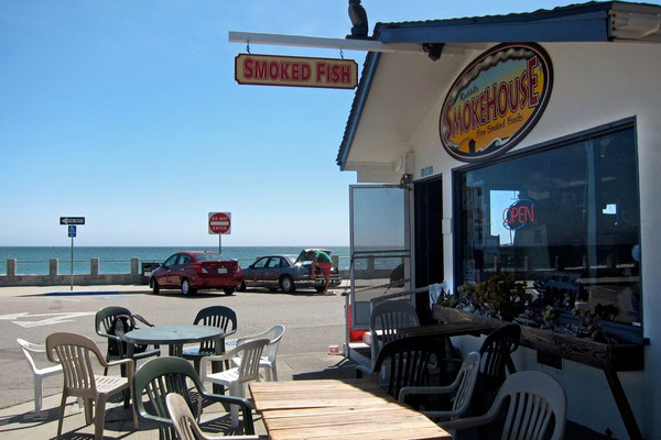 Ruddell's Smokehouse, Cayucos by-the-Sea