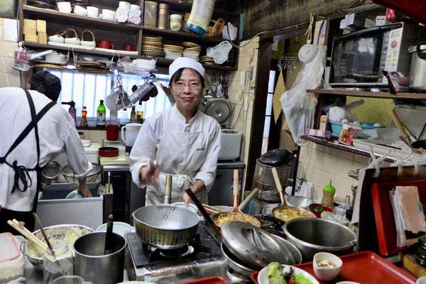 Typisches Restaurants in Osaka