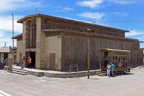 Kirche in der Geisterstadt Humberstone