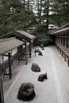 Koyasan Tempelgarten Kongōbuji
