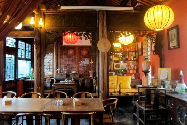 Der Frühstücksraum im Courtyard 7 Peking