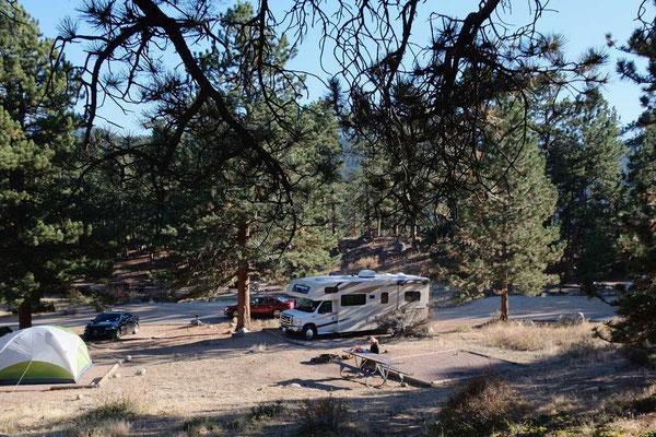 Unser Campingplatz Moraine Park