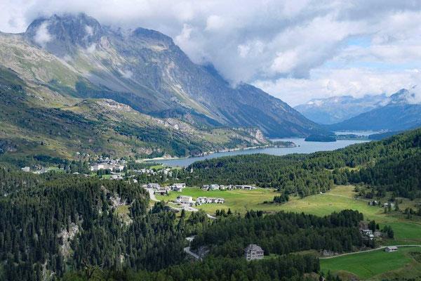 Wanderung Maloja und Silser See