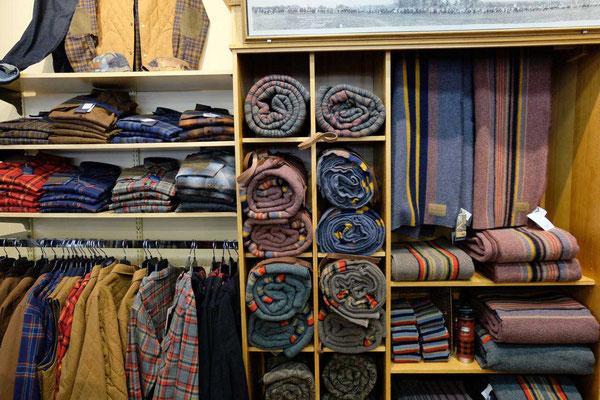 Berühmt, das Pendleton Hemd & Decke