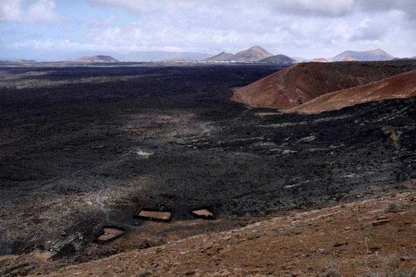 Caldera Blanca Wanderung Lanzarote